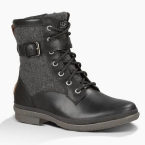 Ugg Kesey Lace up Boots 9.5